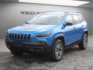 New 2020 Jeep Cherokee Trailhawk for sale in Mississauga, ON