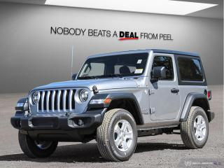 Used 2020 Jeep Wrangler SPORT for sale in Mississauga, ON