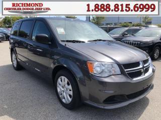 Used 2017 Dodge Grand Caravan CVP/SXT for sale in Richmond, BC
