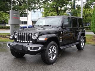 Used 2020 Jeep Wrangler Unlimited Sahara for sale in Richmond, BC