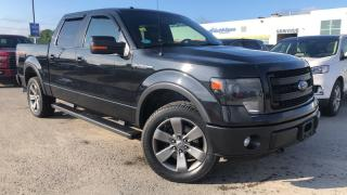 Used 2013 Ford F-150 FX4 5.0L V8 LEATHER HEATED SEATS REVERSE CAMERA for sale in Midland, ON