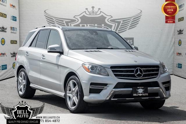 2015 Mercedes-Benz ML-Class ML 350 BlueTEC, AWD, NAVI, 360 CAM, PANO ROOF, SENSORS