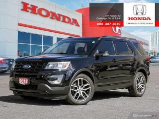 Used 2017 Ford Explorer Sport GPS NAVIGATION SYSTEM | LEATHER INTERIOR | HEATED & COOLING FRONT SEATS for sale in Cambridge, ON