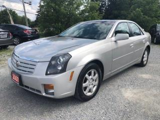 Used 2007 Cadillac CTS LEATHER SUNROOF LOW LMS for sale in Stouffville, ON