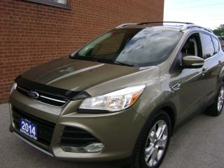 Used 2014 Ford Escape TitaniumNAVIGATION PANORAMA ROOF for sale in Oakville, ON