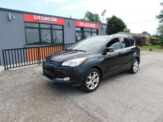 Used 2014 Ford Escape Titanium|4WD|LEATHER|PANO ROOF|NAVI for sale in St. Thomas, ON