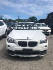 Used 2015 BMW X1 XDRIVE 280,AWD,certified for sale in Scarborough, ON