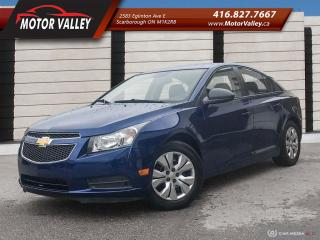 Used 2013 Chevrolet Cruze LS ** 096,226KM ** Clean Vehicle! for sale in Scarborough, ON