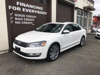 Used 2015 Volkswagen Passat COMFORTLINE NAV/CAM for sale in Abbotsford, BC