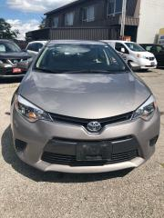 Used 2015 Toyota Corolla LE, certified for sale in Scarborough, ON