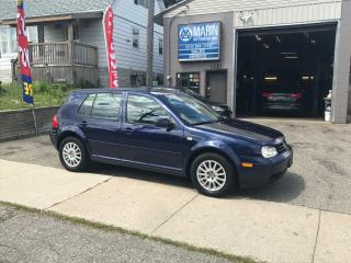 Used 2005 Volkswagen Golf GLS for sale in Kitchener, ON
