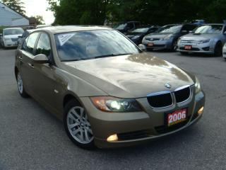 Used 2006 BMW 3 Series 325i W/Sunroof for sale in Ajax, ON
