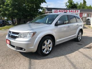 Used 2009 Dodge Journey RT/AWD/Comes Certified/7 Passenger/Leather Seats for sale in Scarborough, ON
