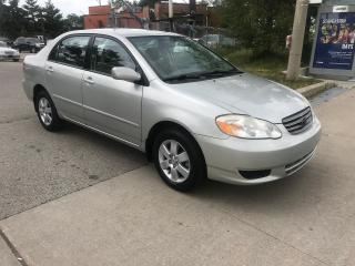 Used 2004 Toyota Corolla LE,ONLY134KM,SAFETY+3YEARS WARRANTY INCLUDED for sale in Toronto, ON