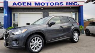 Used 2015 Mazda CX-5 GT- ONE OWNER, NO ACCIDENTS, MINT for sale in Hamilton, ON