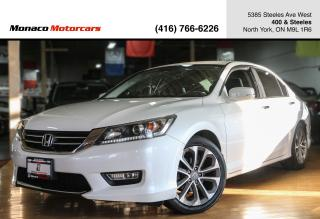 Used 2013 Honda Accord Sport Manual - BACKUP CAMERA|ALLOYS|HEATED SEATS for sale in North York, ON