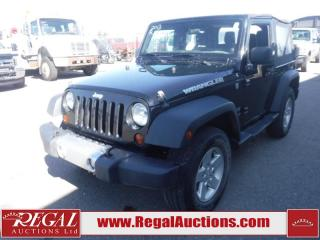 Used 2013 Jeep Wrangler Sport 2D Utility 4WD 3.6L for sale in Calgary, AB