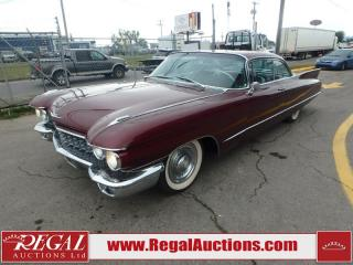 Used 1960 Cadillac DeVille 2D Coupe V8 for sale in Calgary, AB