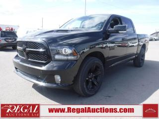 Used 2017 RAM 1500 Sport 4D Crew CAB SWB 4WD for sale in Calgary, AB