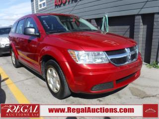 Used 2010 Dodge Journey SE 4D Utility FWD for sale in Calgary, AB