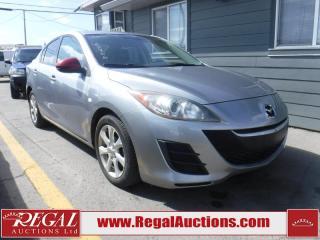 Used 2010 Mazda MAZDA3 GS 4D Sedan for sale in Calgary, AB