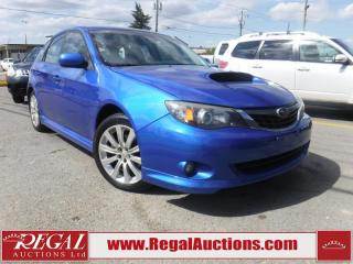 Used 2008 Subaru IMPREZA WRX 4D WAGON for sale in Calgary, AB