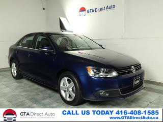 Used 2013 Volkswagen Jetta Comfortline TDI Sunroof 6-SPeed Camera Certified for sale in Toronto, ON
