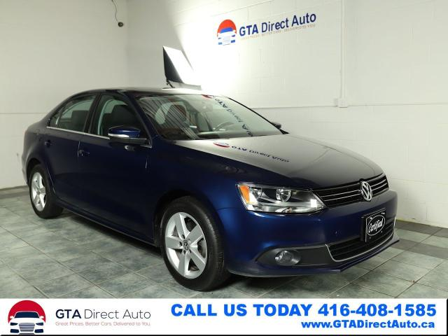 2013 Volkswagen Jetta Comfortline TDI Sunroof 6-SPeed Camera Certified