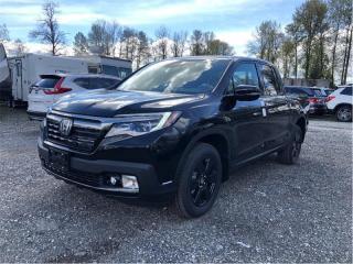 New 2019 Honda Ridgeline Black Edition for sale in Port Moody, BC