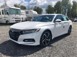 Used 2019 Honda Accord Sedan Sport for sale in Port Moody, BC