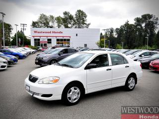 Used 2006 Toyota Corolla CE for sale in Port Moody, BC