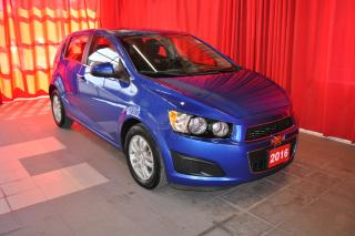 Used 2016 Chevrolet Sonic LT | 5 Door | One Owner | Rear Vision Camera for sale in Listowel, ON
