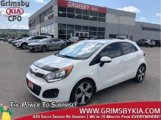 Used 2015 Kia Rio SX| Navi| Leather| Sunroof| Loaded! for sale in Grimsby, ON