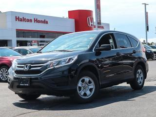 Used 2016 Honda CR-V LX 2WD|NO ACCIDENTS|SERVICE HISTORY ON FILE for sale in Burlington, ON