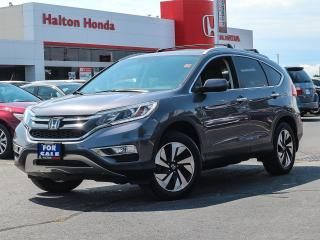 Used 2016 Honda CR-V TOURING|SERVICE HISTORY ON FILE|ACCIDENT FREE for sale in Burlington, ON