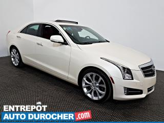 Used 2014 Cadillac ATS Performance AWD NAVIGATION - Toit Ouvrant - A/C - for sale in Laval, QC