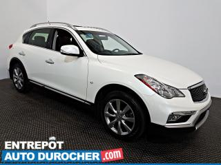 Used 2016 Infiniti QX50 AWD TOIT OUVRANT - Automatique - A/C - Cuir for sale in Laval, QC