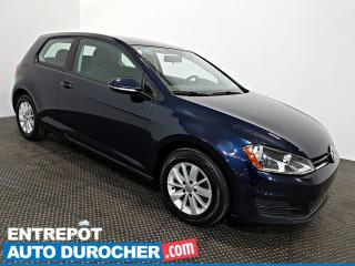 Used 2015 Volkswagen Golf Trendline Automatique - A/C - Groupe Électrique for sale in Laval, QC