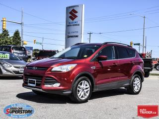 Used 2014 Ford Escape SE AWD ~Nav ~Backup Cam ~Heated Seats ~Power Seat for sale in Barrie, ON