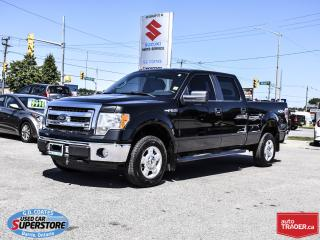 Used 2014 Ford F-150 XLT Super Crew 4x4 ~5.0L V8 ~Trailer Tow Package for sale in Barrie, ON