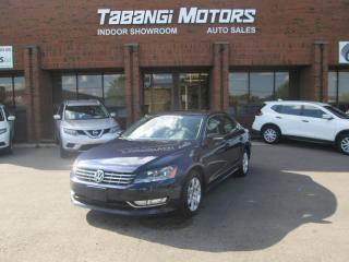 Used 2013 Volkswagen Passat TDI | NO ACCIDENTS | COMFORTLINE | LEATHER | SUNROOF | BT for sale in Mississauga, ON