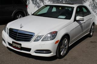 Used 2013 Mercedes-Benz E-Class E300 4MATIC NAVIGATION LANE ASSISTS LEATHER SUNROOF for sale in Mississauga, ON