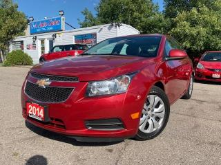 Used 2014 Chevrolet Cruze 4dr Sdn 1LT * ACCIDENT FREE|BLUETOOTH|BACKUP|ACCIDENT FREE* for sale in Brampton, ON