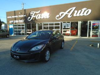Used 2012 Mazda MAZDA3 GS-SKY & AUTOMATIC & SUNROOF for sale in Scarborough, ON