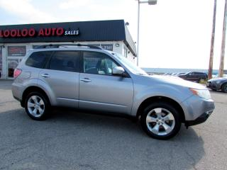 Used 2010 Subaru Forester 2.5 XT Limited AWD Turbo Leather Sunroof Certified for sale in Milton, ON