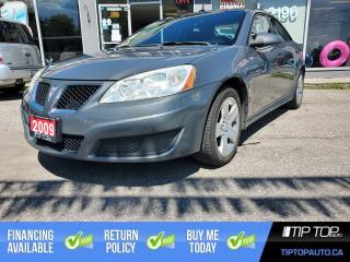 Used 2009 Pontiac G6 SE ** 1 Owner, Clean CarFax, Remote Start ** for sale in Bowmanville, ON