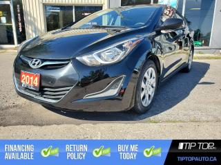Used 2014 Hyundai Elantra GL ** Clean CarFax, Heated Seats, Great Options ** for sale in Bowmanville, ON