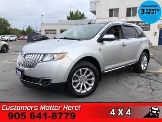 Used 2013 Lincoln MKX Base  AWD NAV ROOF CS BS P/GATE P/SEAT for sale in St. Catharines, ON