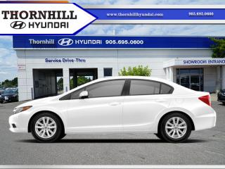 Used 2012 Honda Civic Sedan EX-L  - Navigation -  Leather Seats for sale in Thornhill, ON