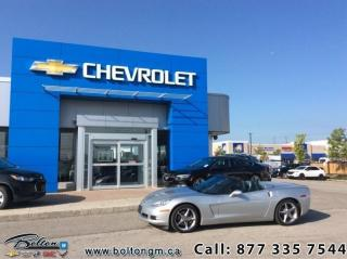 Used 2011 Chevrolet Corvette Convertible  - $498 B/W for sale in Bolton, ON